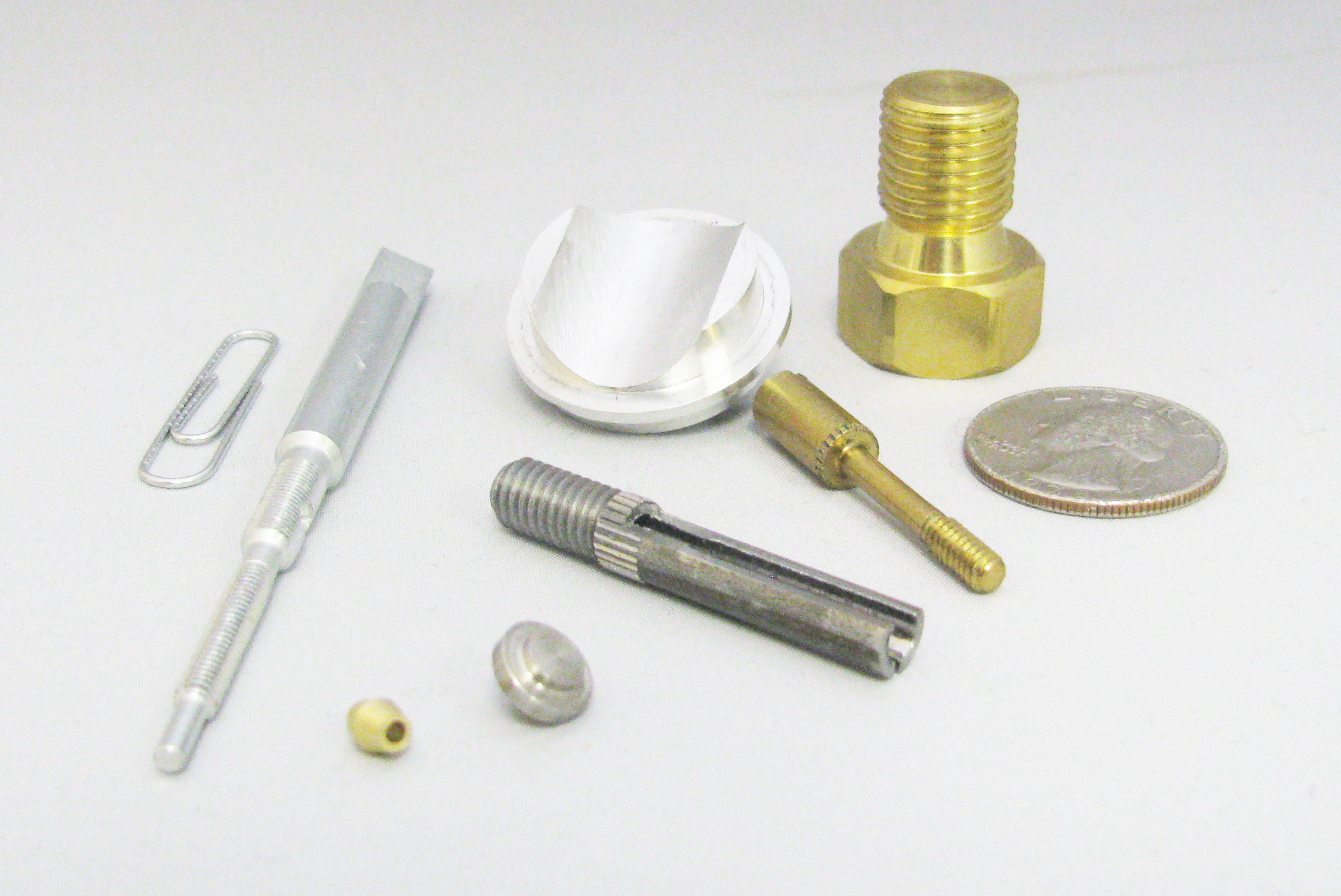 Precision Screw Machined Parts, Swiss Screw Machining Services