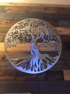 Plasma Cut Metal Art