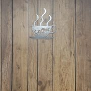 Coffee Cup - Metal Home Decor