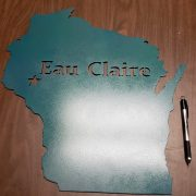 Eau Claire - Metal Home Decor